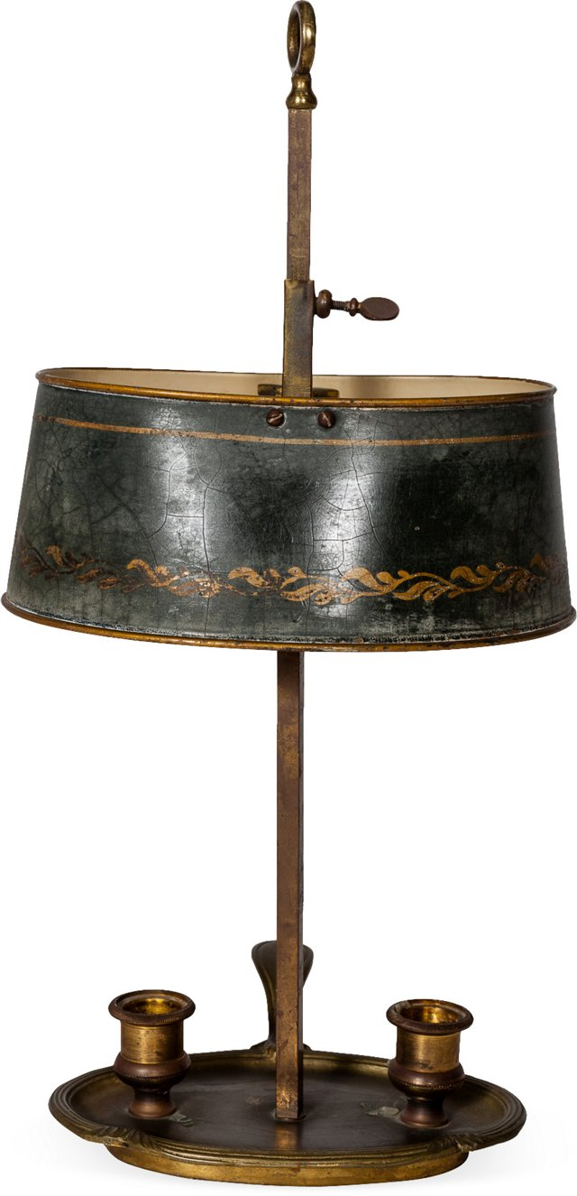 Antique Bouillotte Lamp VIII