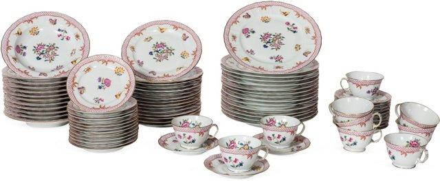 Limoges France Dish Set, 78 Pcs.