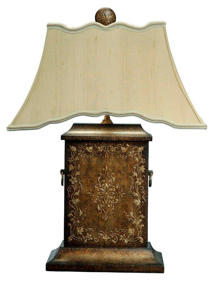 Hand-Painted Via Veneto Lamp