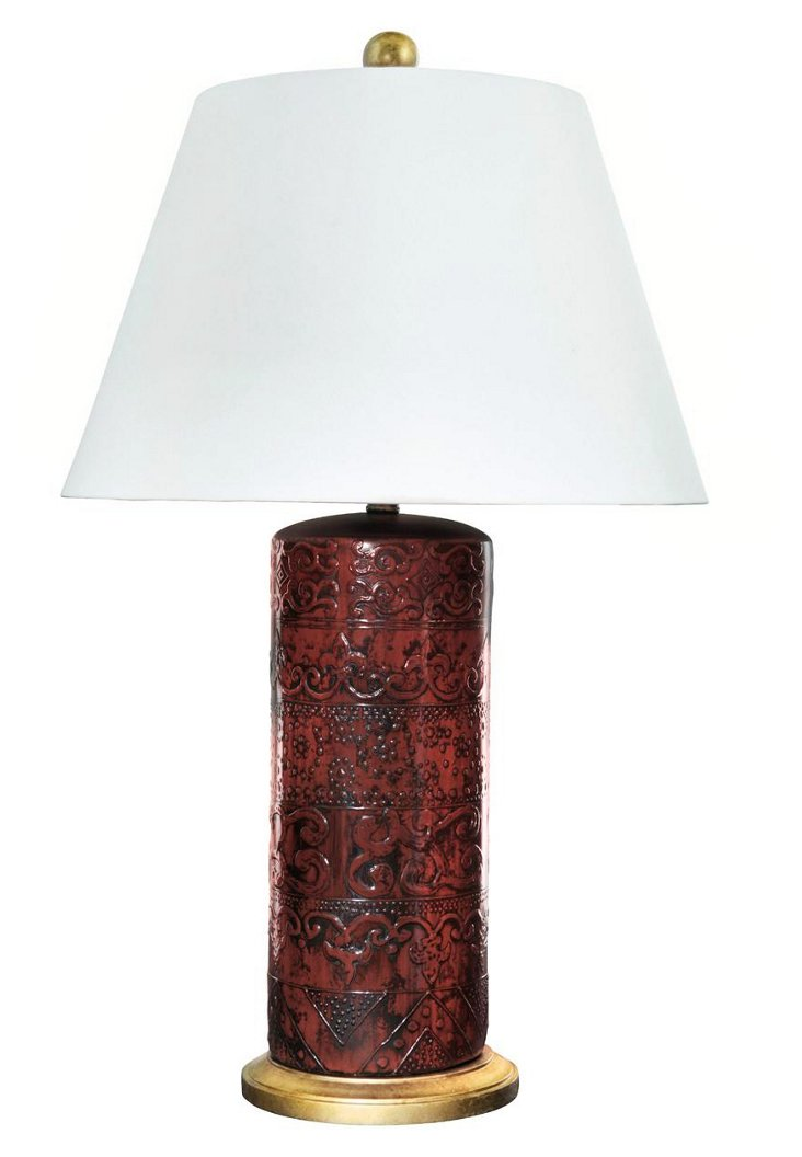 Serpentine Table Lamp