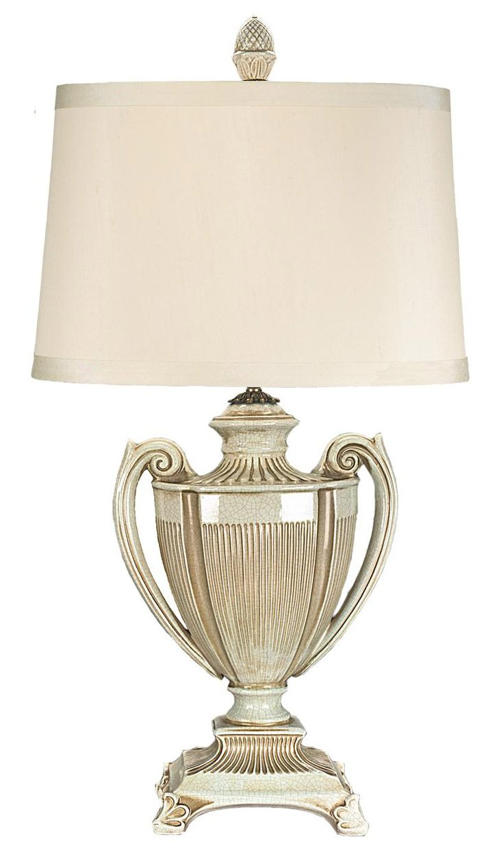 St. Marcel Table Lamp, Brown Patina