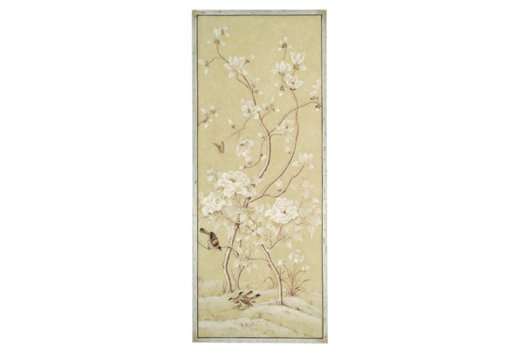 Spring Blossom Bird Panel, Right