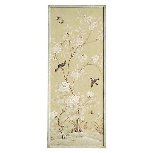 Spring Blossom Bird, Right Painting
