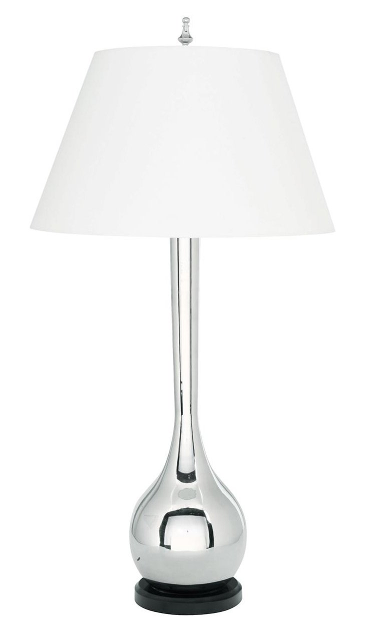 Soave Table Lamp, Silver