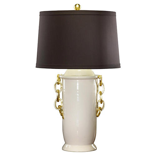 Ariamin Table Lamp, Black Shade
