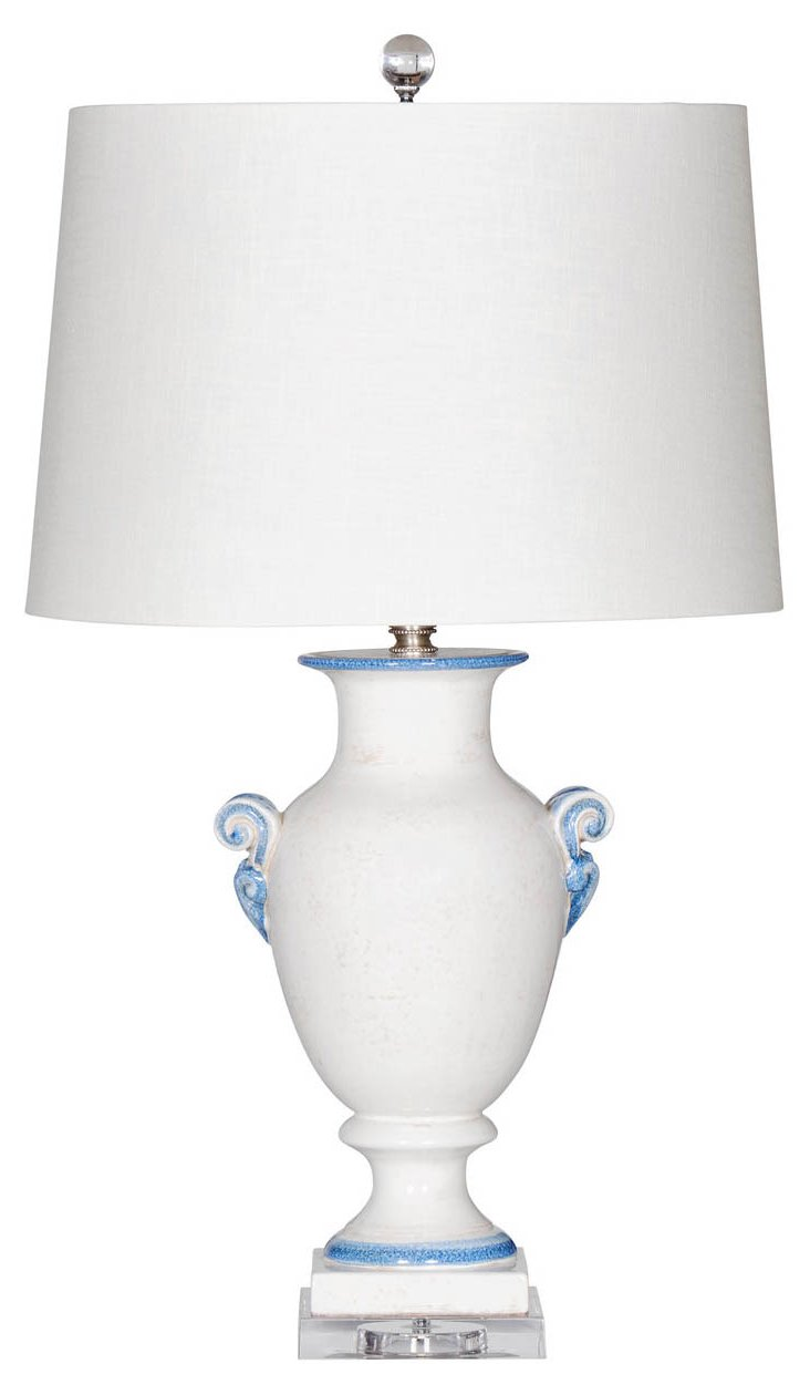Bal Harbour Table Lamp, Cream