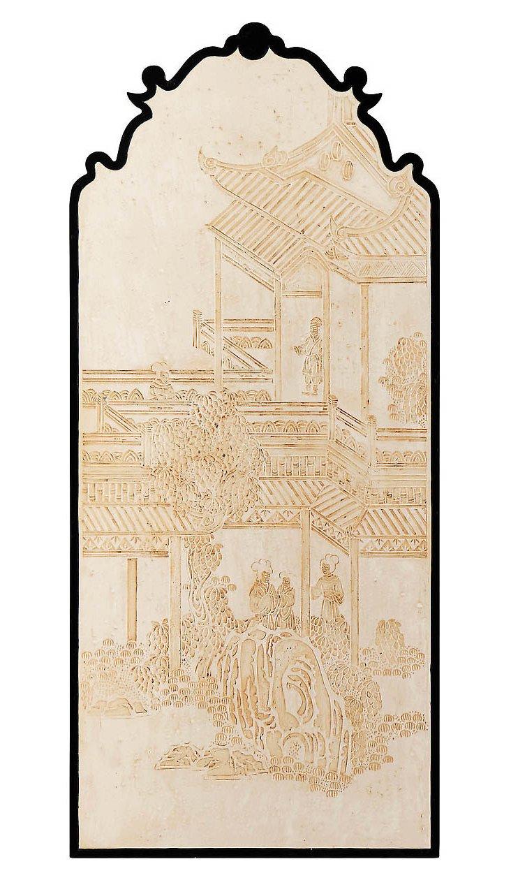 Shanghai Nouveau Panel, Left