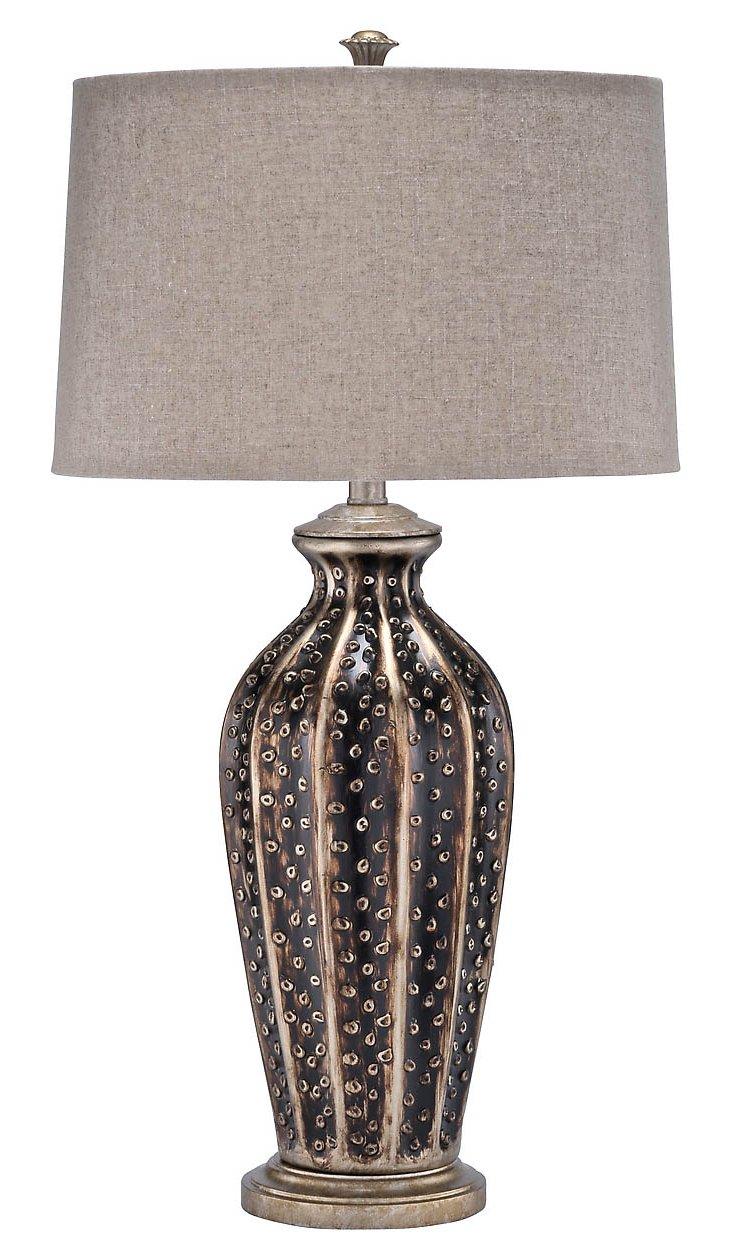 Dalliance Table Lamp, Chocolate