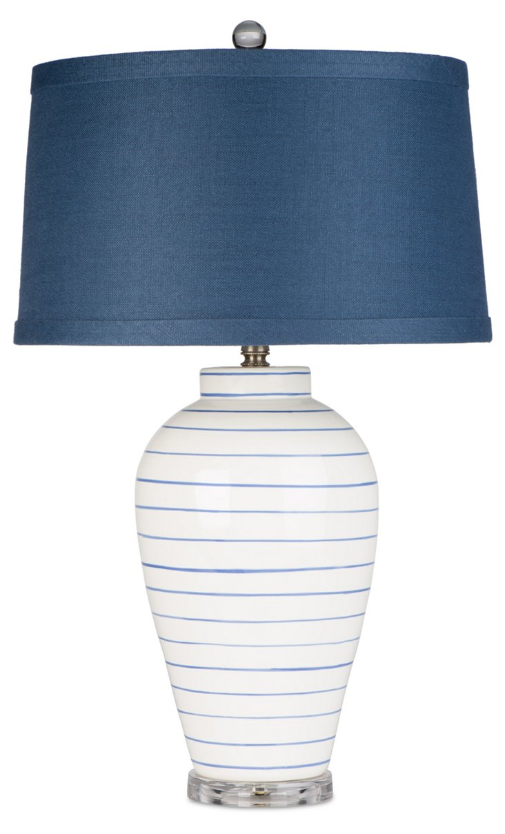 Newport Beach Table Lamp, White