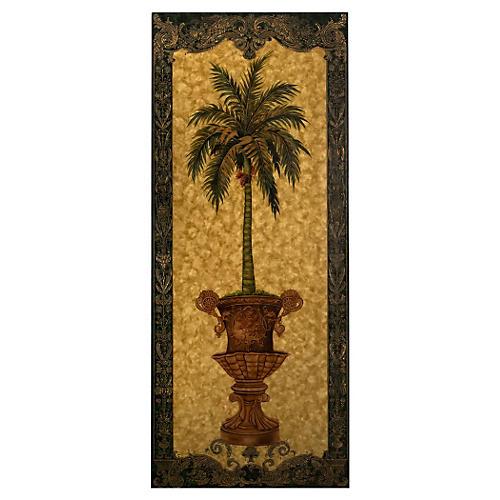 Palmetto Palm Panel, Right