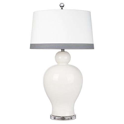 Payton Coast Table Lamp, Cream