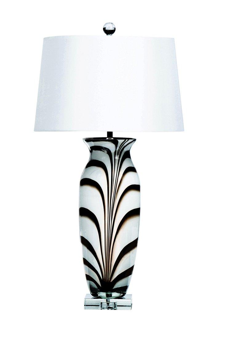 Zanzibar Table Lamp, Caramel