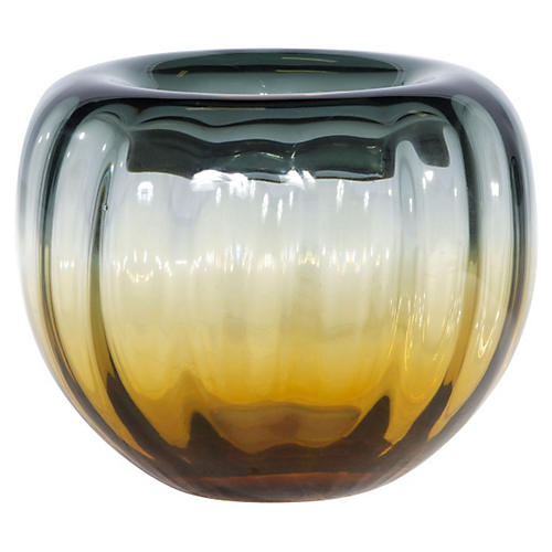 Sunset Bowl, Amber/Gray