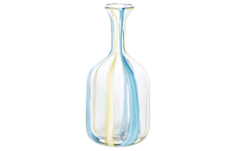 Sky Fall Jar, Clear/Blue/Yellow