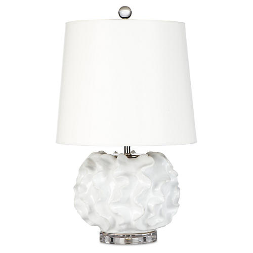 Metropolitan Table Lamp, Cream