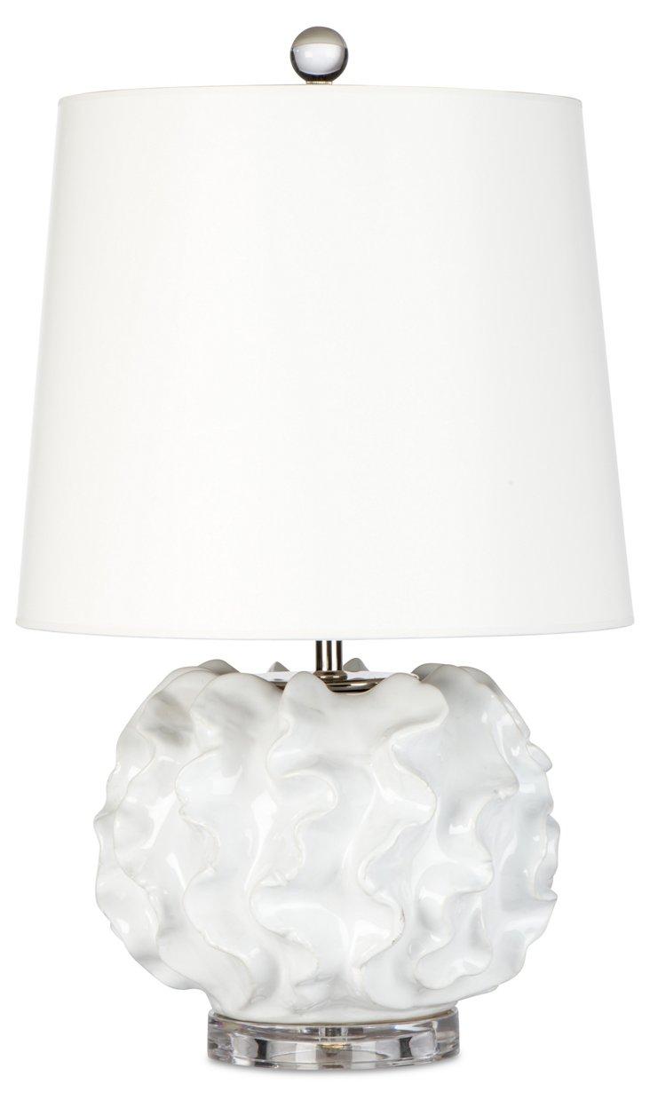 Metropolitan Table Lamp, Cream