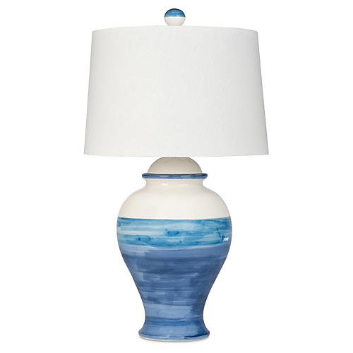 Bimini Beach Table Lamp, Blue
