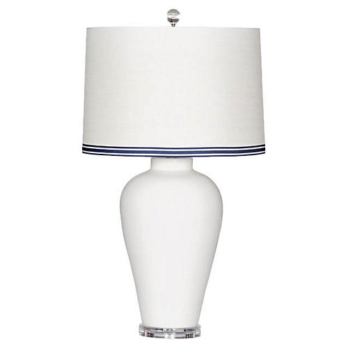 Hamptons Table Lamp, Cream