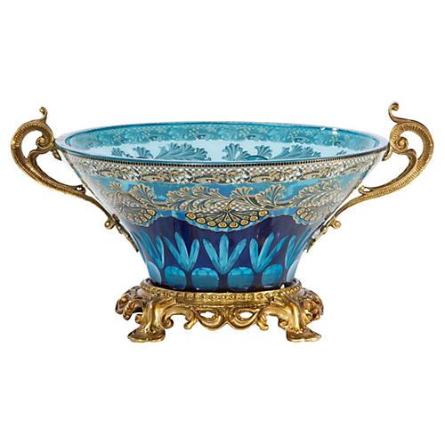 """11"""" Eminence Bowl, Blue"""