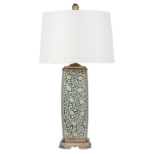 Atlas Table Lamp, Cream