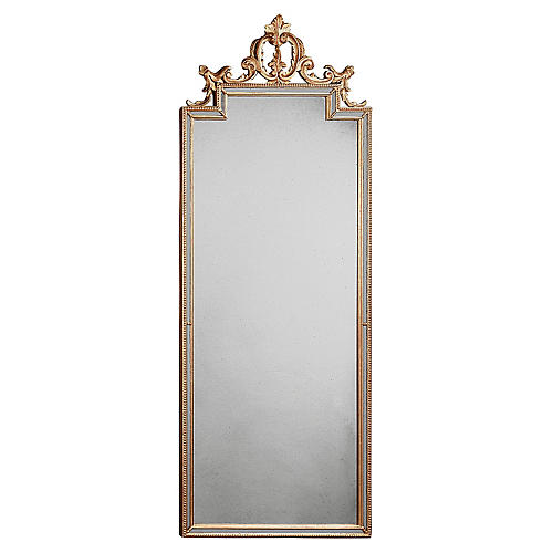 "Hills 23""x59"" of Chianti Scroll Mirror"