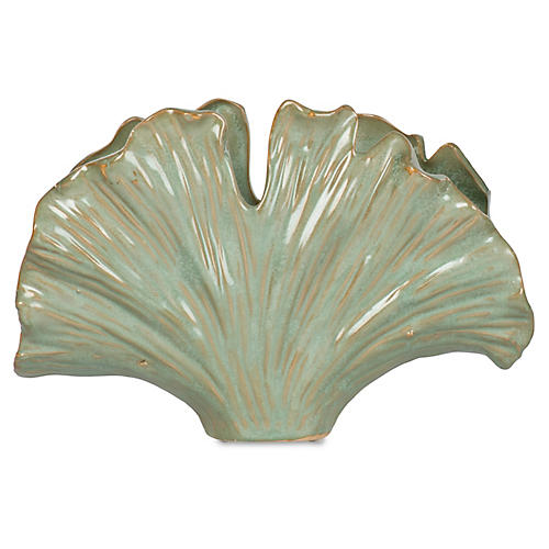 "7"" Glazed Fan Coral"