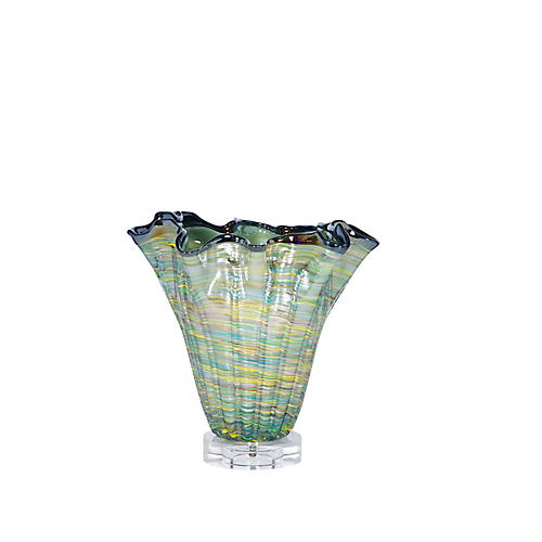 Destan Vase Table Lamp, Blue