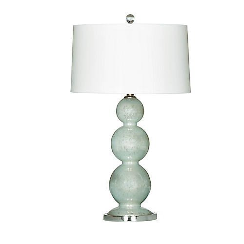 Misty Table Lamp, Celedon