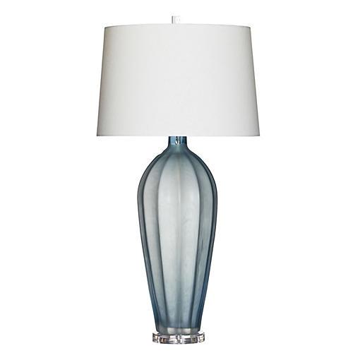 Gray Sky Table Lamp