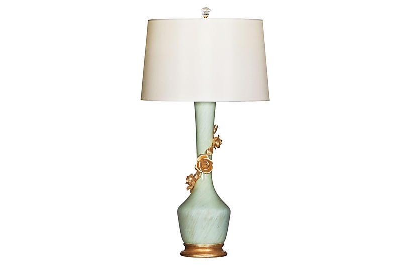 Valentina Blu Table Lamp