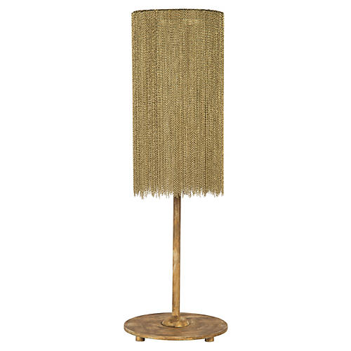 Harlow Table Lamp, Gold
