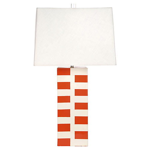 Desmond Table Lamp, Tangerine