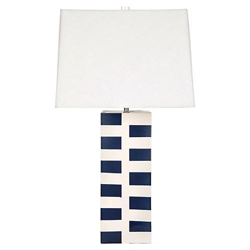 Desmond Table Lamp, Navy