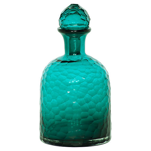 "12"" Honeycomb Bottle, Turquoise"