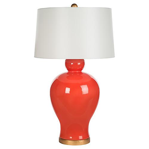 Zuma Table Lamp, Orange