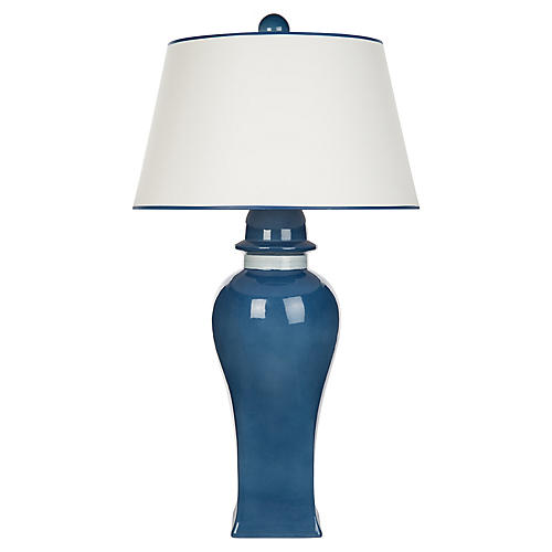 Bona Table Lamp, Blue