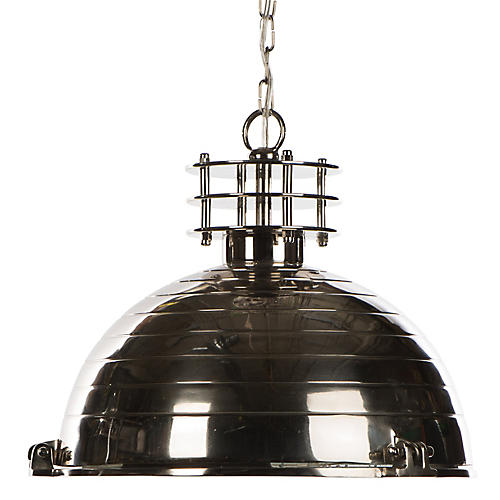 Port Rowan Chandelier, Silver