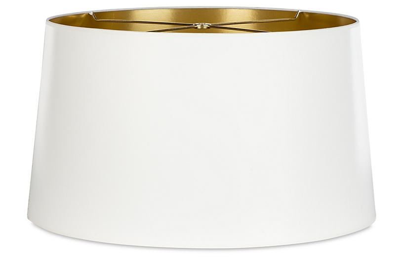 Borealis Shade, White/Gold
