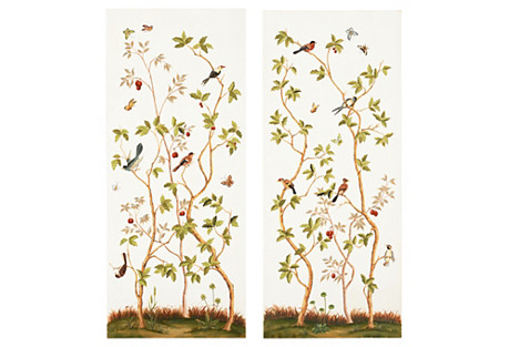 S/2 Bird and Branch Panels, Multi