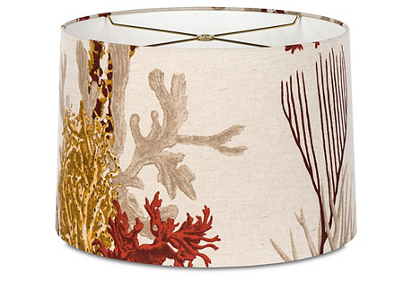 Reef Shade, Red/Cream