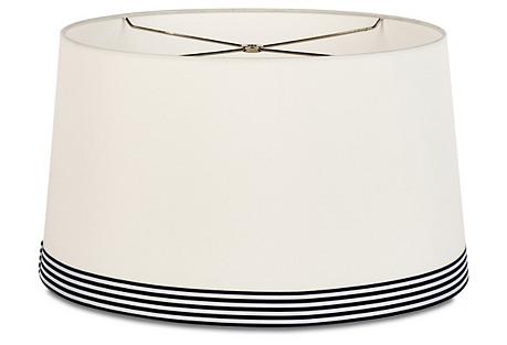 Monarch Stripe Shade, Off-White/Navy