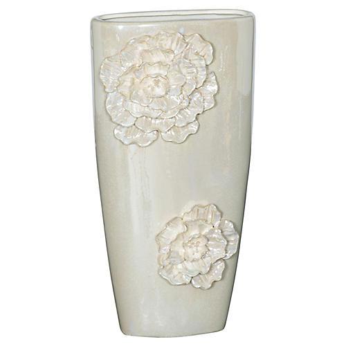 Rose Vase, Pearl