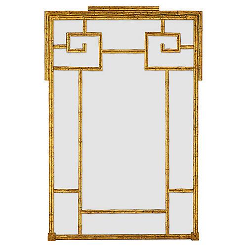 Butera Wall Mirror, Gold