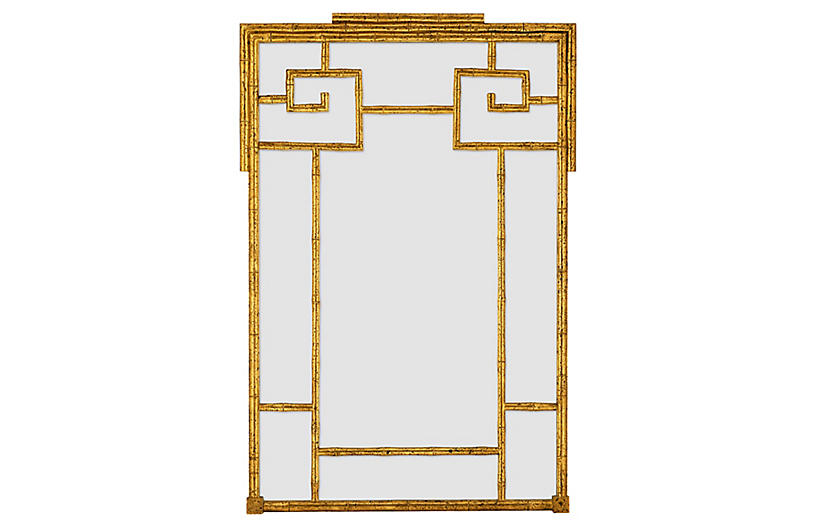 Butera Wall Mirror, Gold
