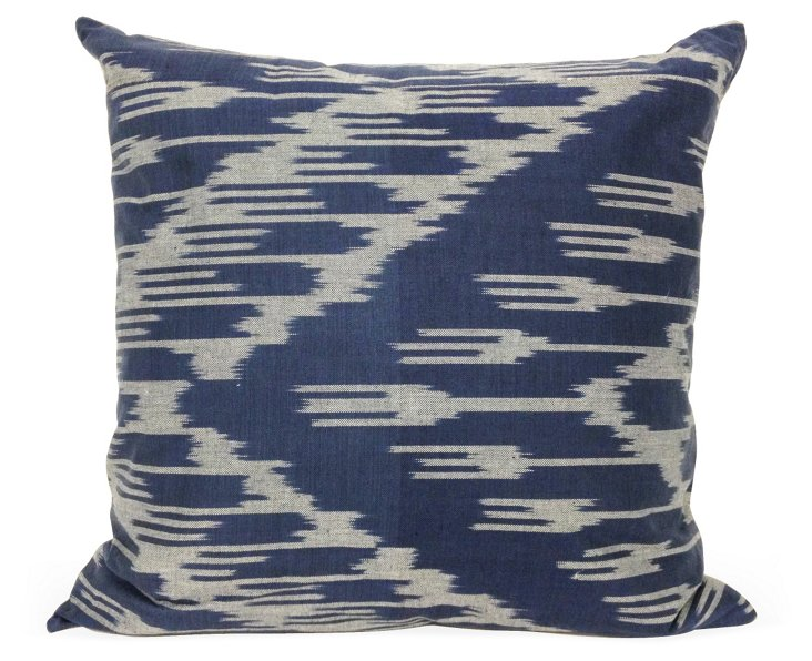 Fork 20x20 Pillow, Royal Blue