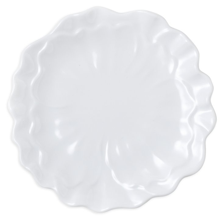 S/6 Melamine Peony Lunch Plates