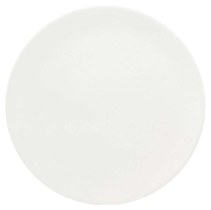 S/4 Melamine Moon Dinner Plates