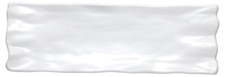 Melamine Rectangular Ruffle Platter