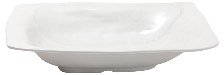 Melamine Ruffle Serving Bowl