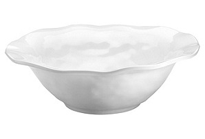 Melamine Ruffle Round Serving Bowl, 12""